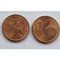 Литва, 1 евроцент 2015