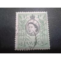 Ямайка, колония Англии 1956 королева Елизавета 2