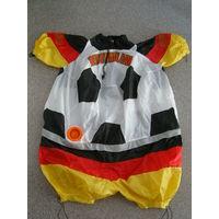 Костюм мяч надувной для поклонников футбола