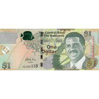Багамы 1 доллар 2015 года (UNC)