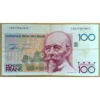 100 франков 1982г
