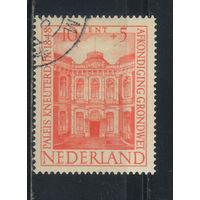 Нидерланды 1948 50 летие Конституции Дворец Кнеутердейк Гаага #505