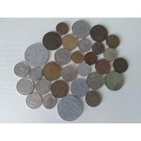 С рубля 30 монет