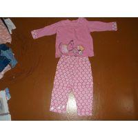 Пижама на рост 70 см
