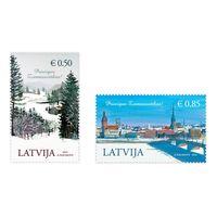 Латвия 2014 год. Рождество и Новый год 2м**