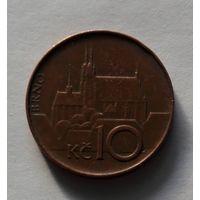 10 крон, Чехия,1994 г.