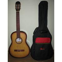 Гитара акустическая,шестиструнная.