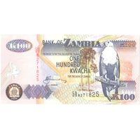 YS: Замбия, 100 квача 2008, P# 38g, UNC