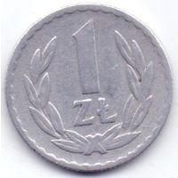 Польская Республика. 1 злотый 1949 года.
