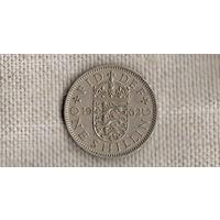 Великобритания 1 шиллинг 1962(Zo)