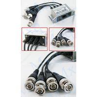 Адаптер 4 BNC CAT5 - LAN (для видео наблюдения)