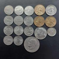 Отличный лот американских монет.