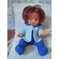 Кукла Аллочка (кукла-нехочуха), СССР, 80-е годы, РЕДКАЯ!!!