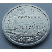 Французская полинезия. 1 франк 2001
