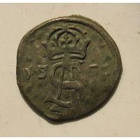Двуденар 1566 года