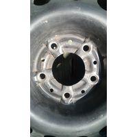 Диск штампованный R15, 7J, 5х120, DIA 74.1 с резиной, остаток протектора 5 мм - 1 шт.