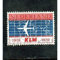 Нидерланды.Ми-737. Авиация. 40 лет авиакомпании KLM.1959.