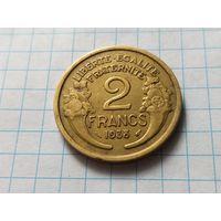 Франция 2 франка, 1938