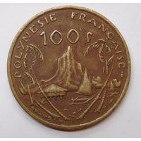 Французская Полинезия 100 франков 1976 г
