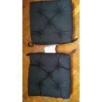 Подушки на стул из Икеи 35х38х7 см. 2 штуки.  IKEA MALINDA. Цена за обе