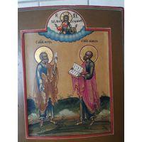 Икона Аппостолы Пётр и Павел. Ветка.