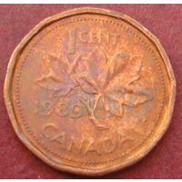 5756:  1 цент 1989 Канада