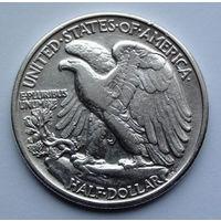 США 1/2 доллара. 1946. Walking Liberty Half Dollar