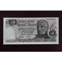 Аргентина 50 песо 1975 UNC