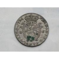 ИТАЛЬЯНСКАЯ 20 сольдо 1794 г