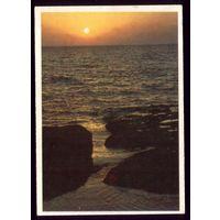 Закат солнца Баку