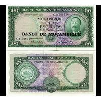Мозамбик. 100 эскудо 1961 [UNC]