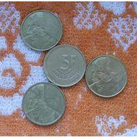 Бельгия 5 франков Валлония