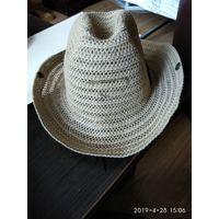 Мужская летняя шляпа для отдыха на природе и защиты от солнечных лучей.