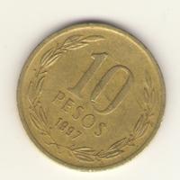 10 песо 1997 г.