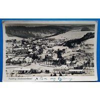 Фредебург. Вид на город. 1950-е. Подписана.