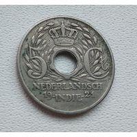 Голландская Ост-Индия 5 центов, 1921 7-2-36