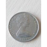 Новая Зеландия 5 центов 1975г.
