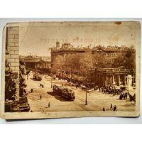 Ленинград. Проспект 25-го Октября и Аничков дворец