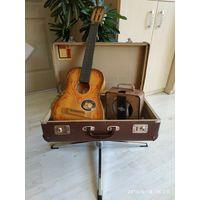 Ретро мини гитара СССР , для декора.
