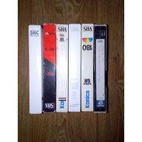 Видеокассеты-разные