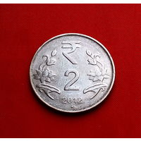 42-37 Индия, 2 рупии 2012 г.