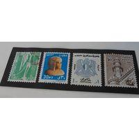 Марки Египта - 8 шт (цена за все)