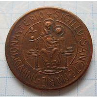 Памятный жетон Германия - изображение святой девы Марии