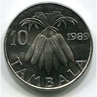 (B3) МАЛАВИ - 10 ТАМБАЛА 1989 UNC