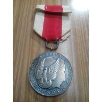 Медаль За заслуги по защите страны.2 степень.Польша