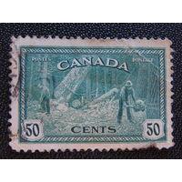 Канада 1946 г. Флора.