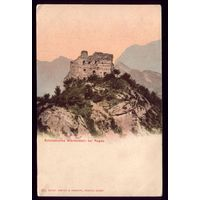 Швейцария Руины крепости Вартенштайн Рагац