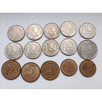 15 монет ,Россия