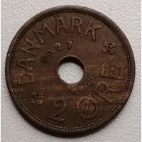 Дания 2 эре 1927 2