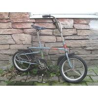 """Старый детский велосипед """"СТАРТ""""с раздвижной рамой."""